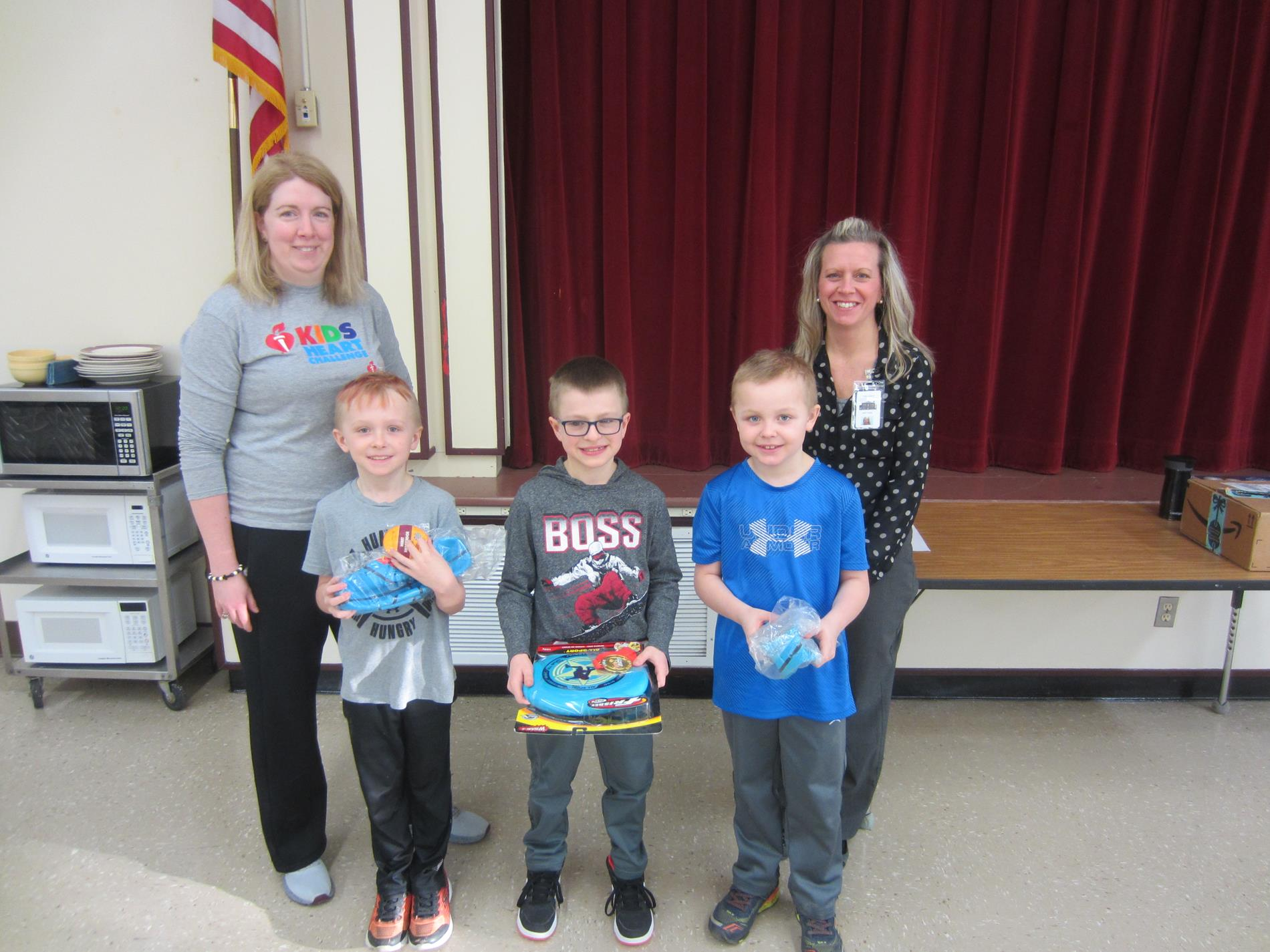 Jump Rope for Heart awards