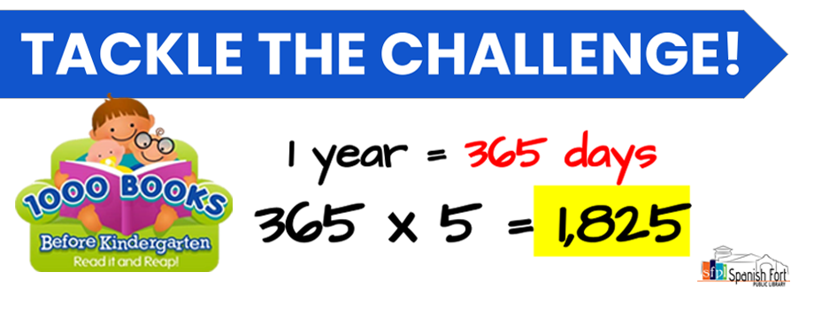 1000 Books Before Kindergarten Beanstack Challenge