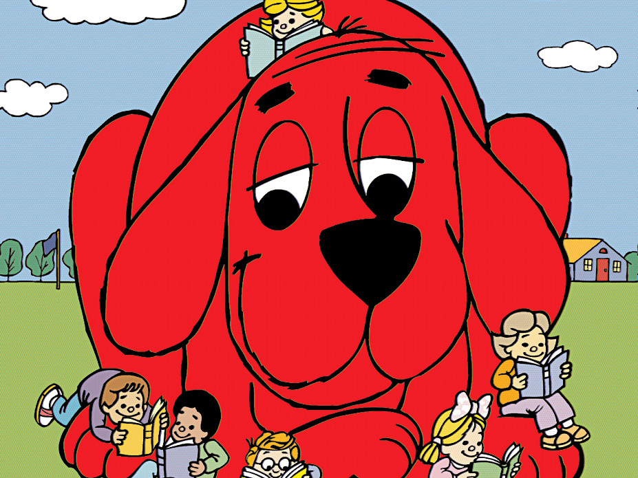 save the date big red dog