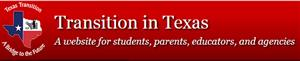 Transition in Texas logo and link