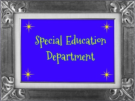 Link to Special Education Department Page