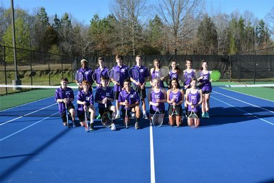 Tennis Team Picture