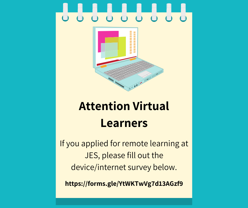 Virtual Learning Device/Internet Survey