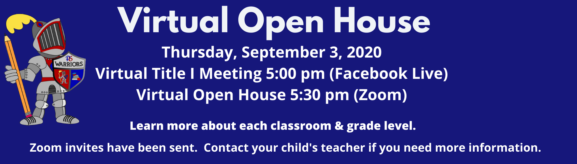 Virtual Open House