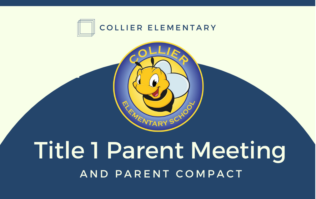 title 1 parent meeting and compact
