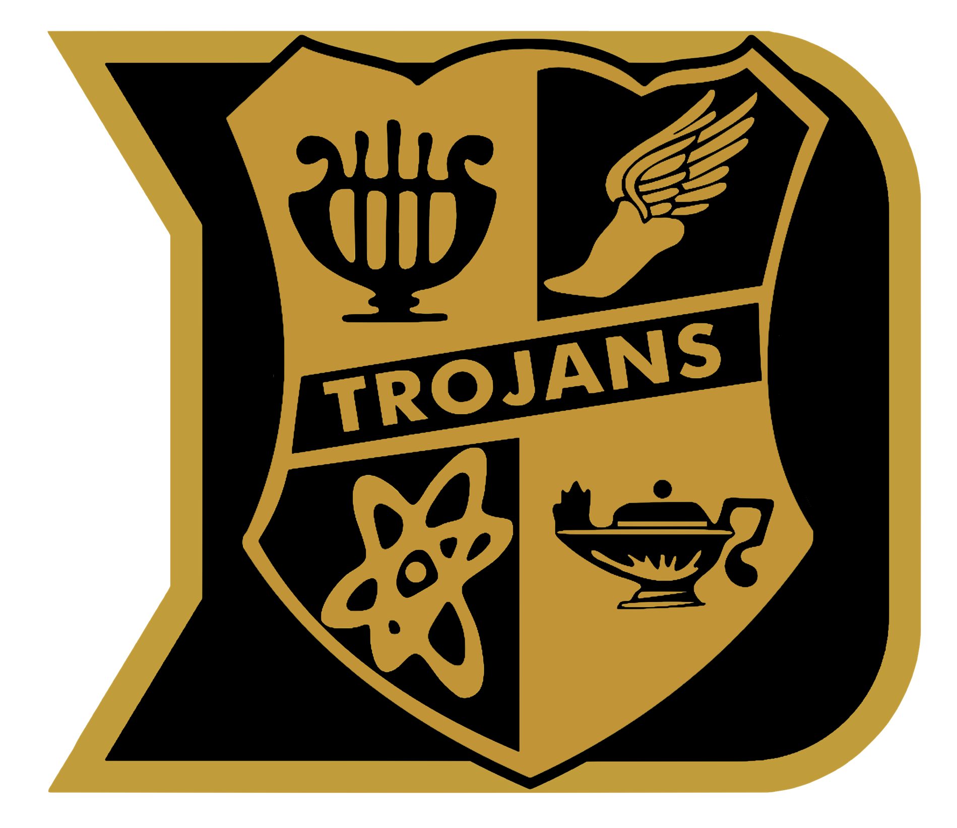 Dyersburg City Schools D Logo