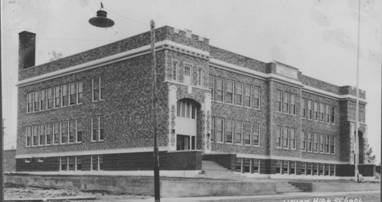 Burns High School - Historical