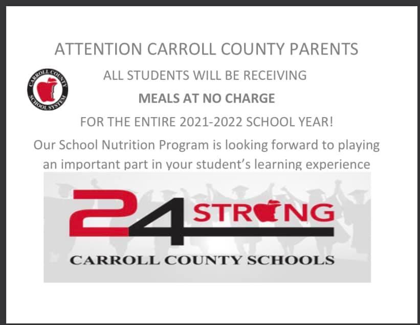 CCS Meals Announcement