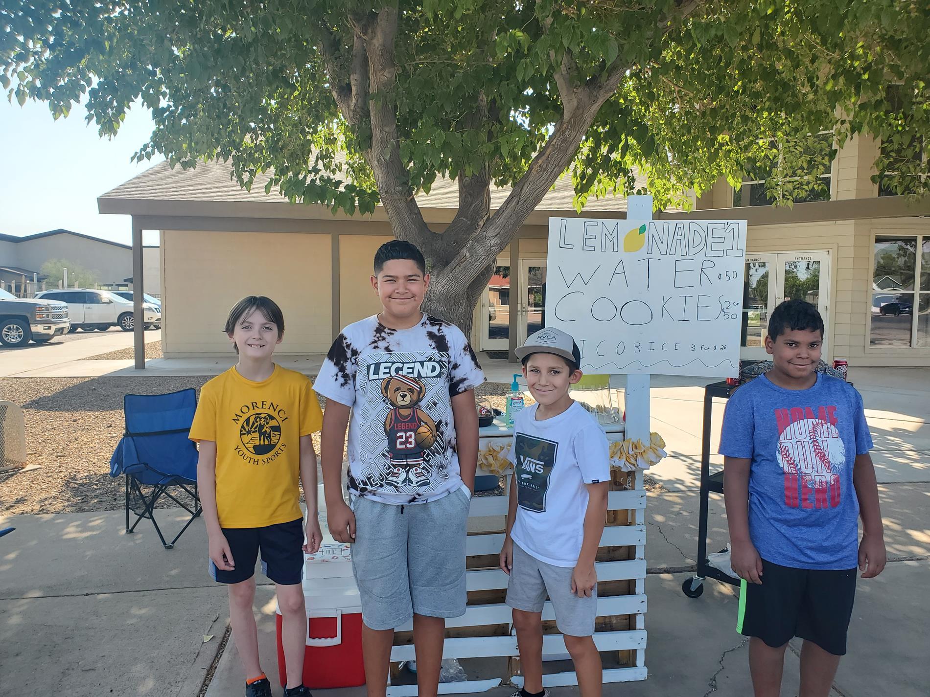 Group 1 - Lemonade War Students