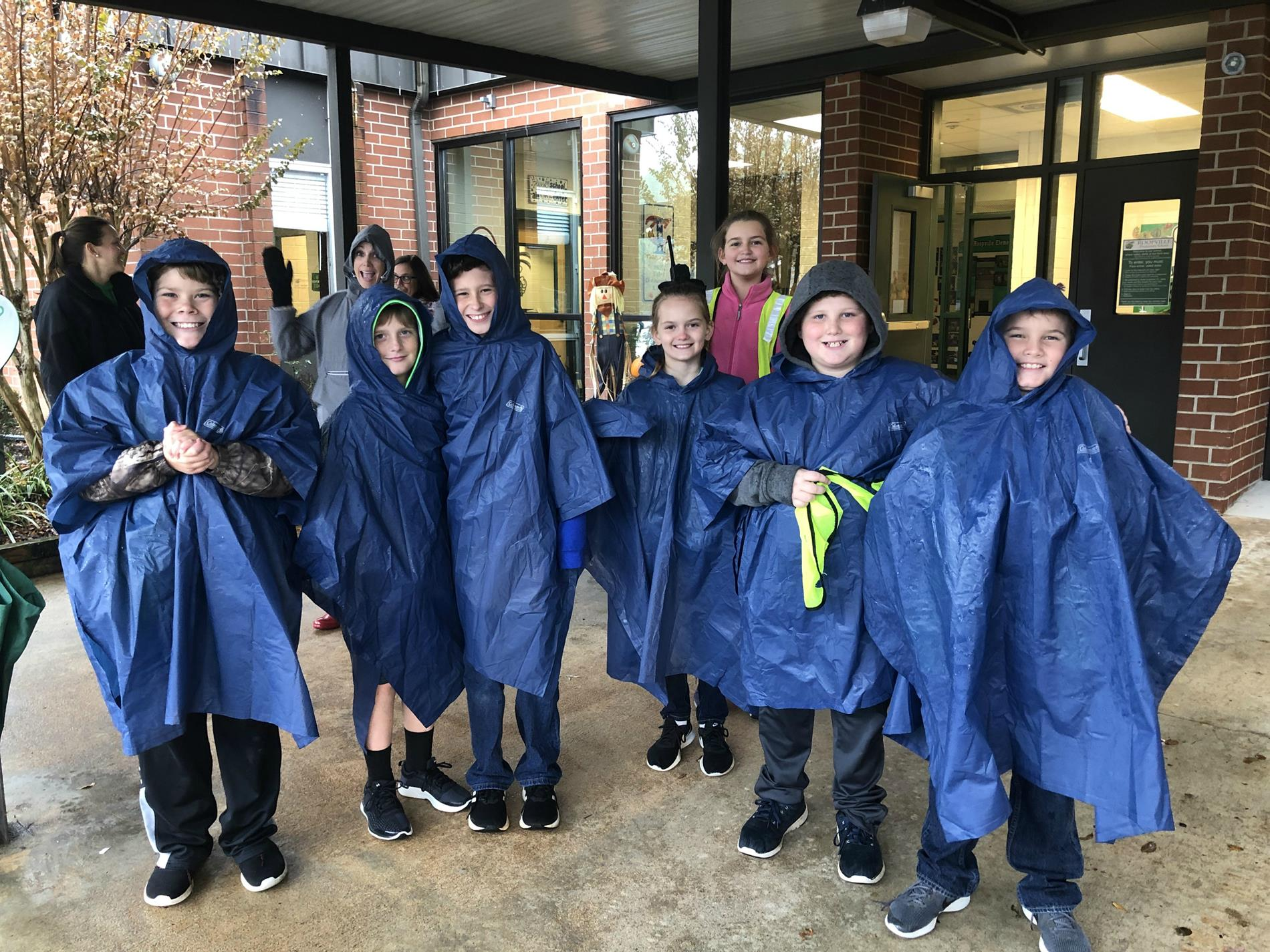 Safety Patrol Students