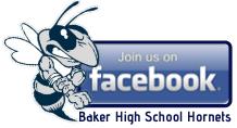 Follow Baker High School Hornets on Facebook!