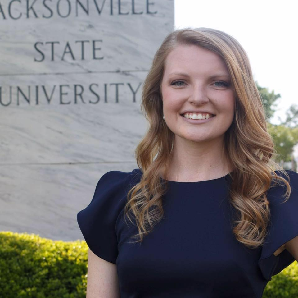 Ms. Whited at Jacksonville State