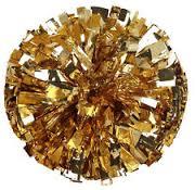 gold pom pom