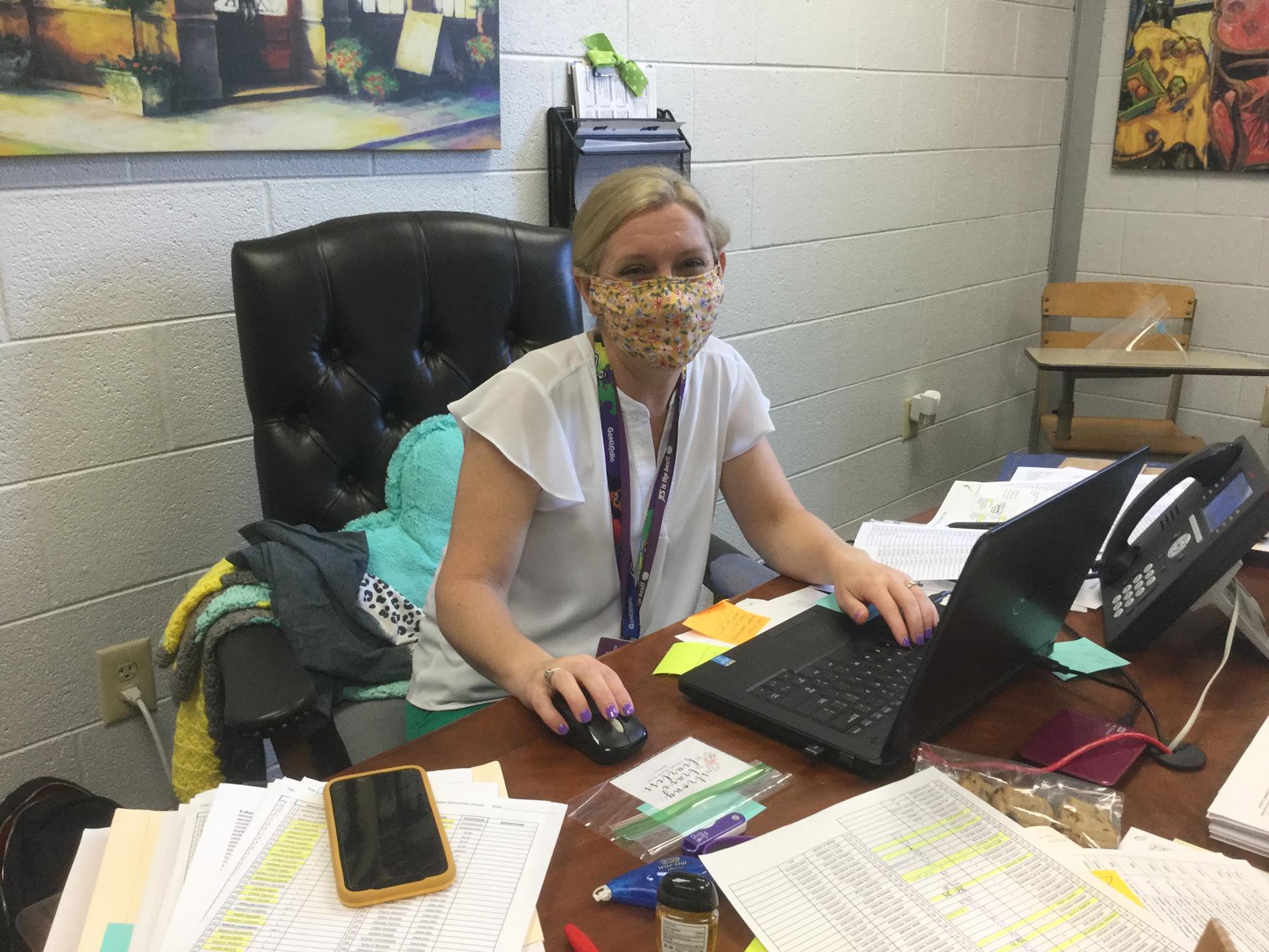 Mrs. Kimberly Shurett, Principal JES