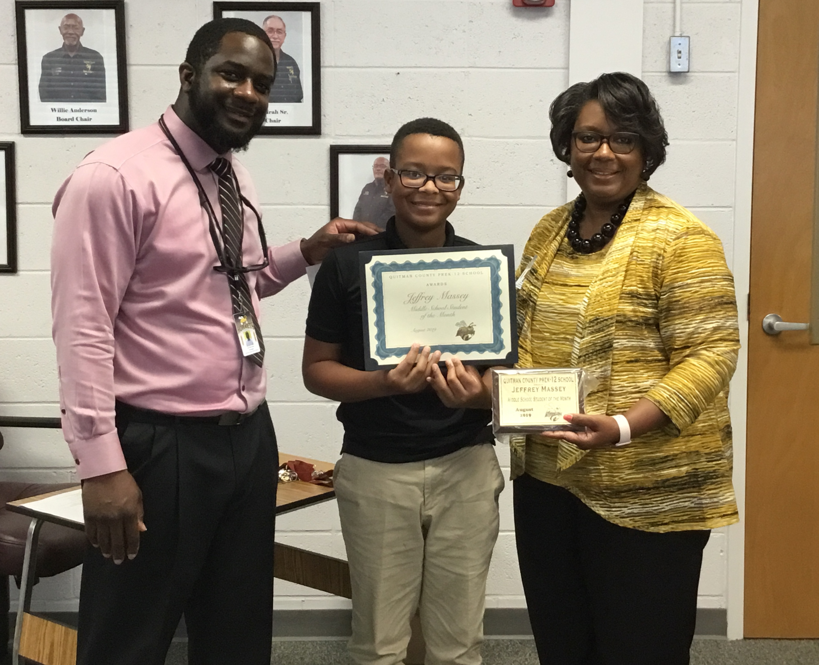 August 2019 MS Student of the Month