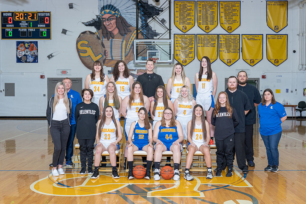 2020 Varsity Girls Basketball team
