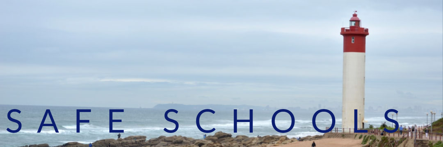 lighthouse with safe schools label