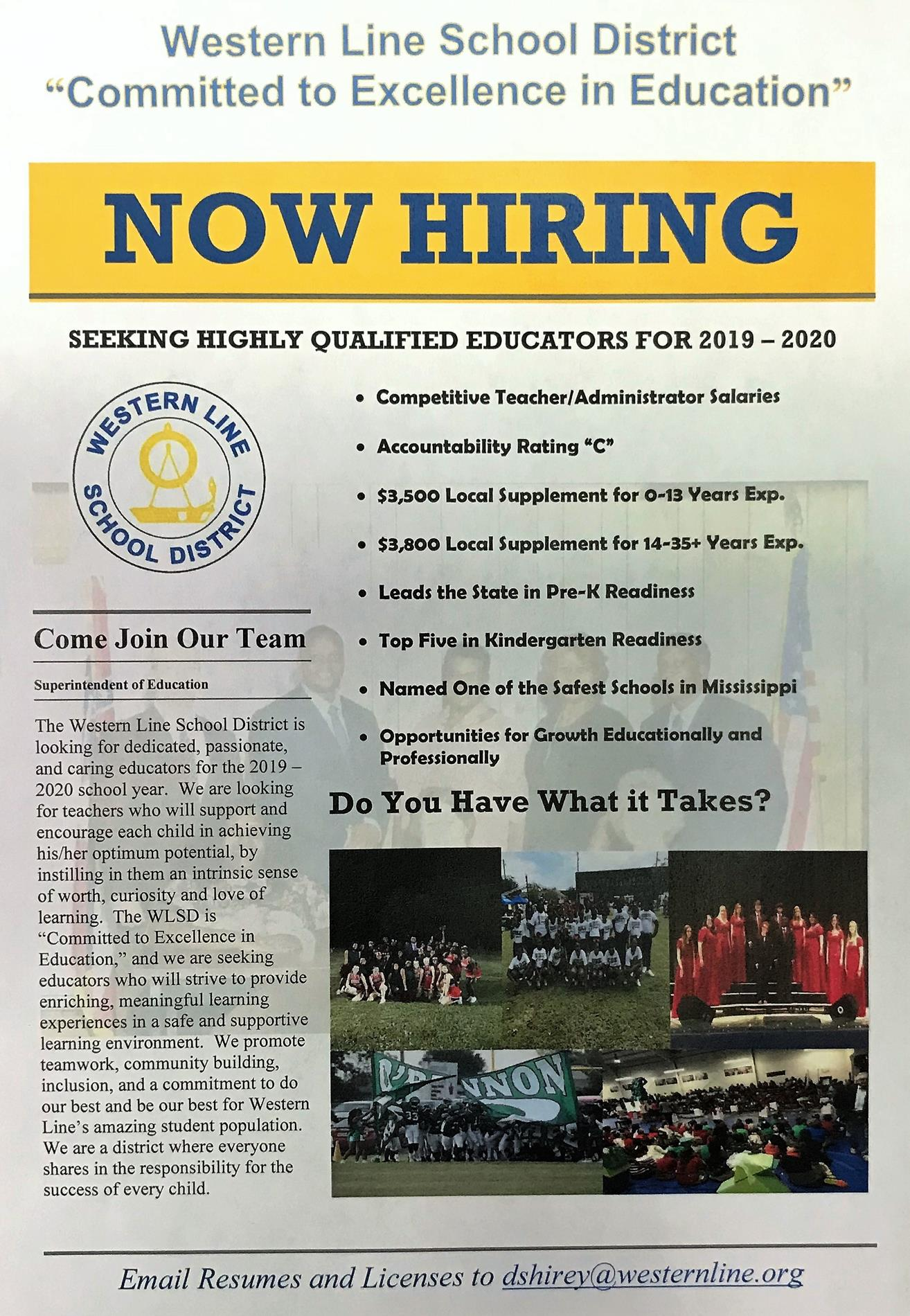 Recruitment Flyer