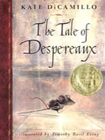 The Tale of Despereaux book cover art