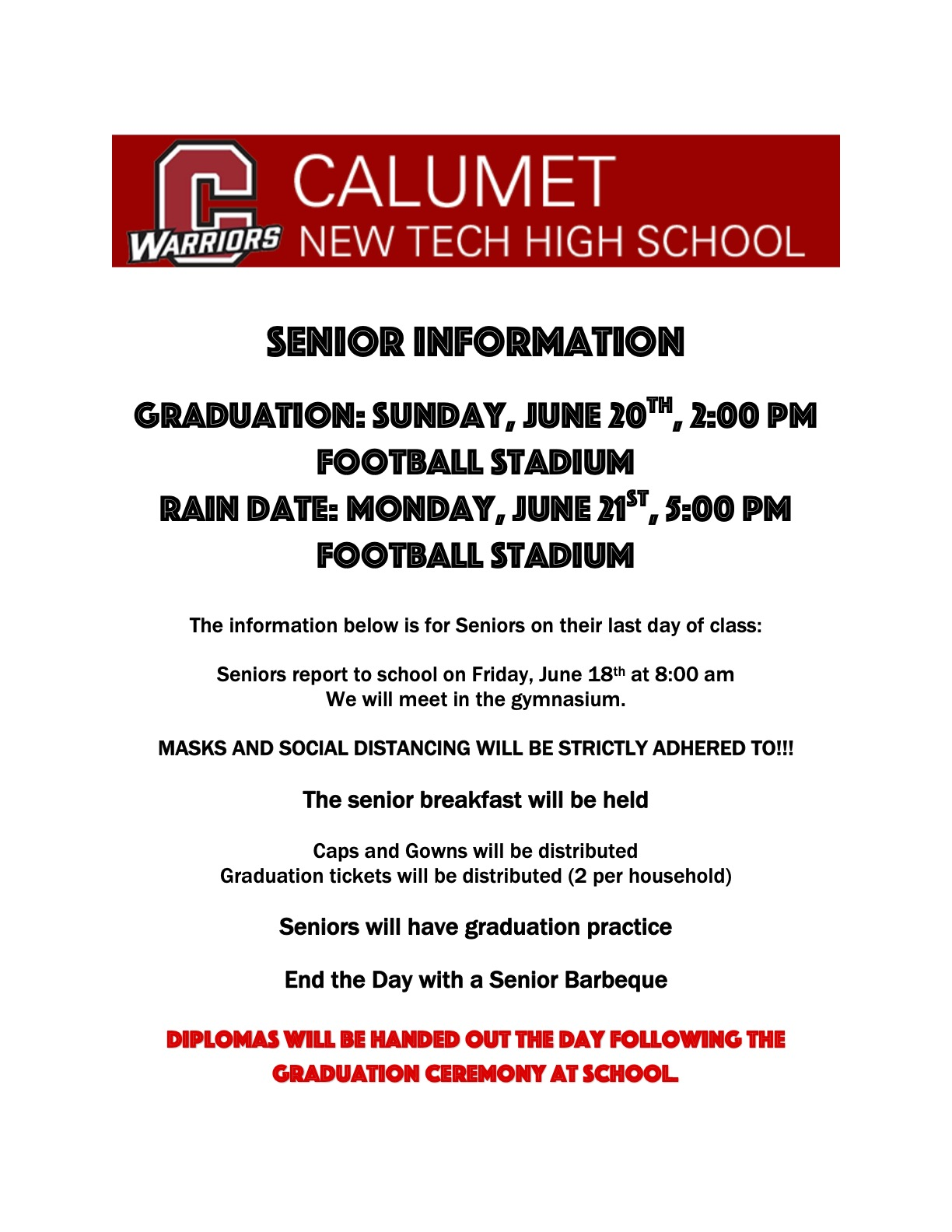C/O 2021 Grad Info.