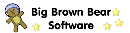 Big Brown Bear Software website header image with link