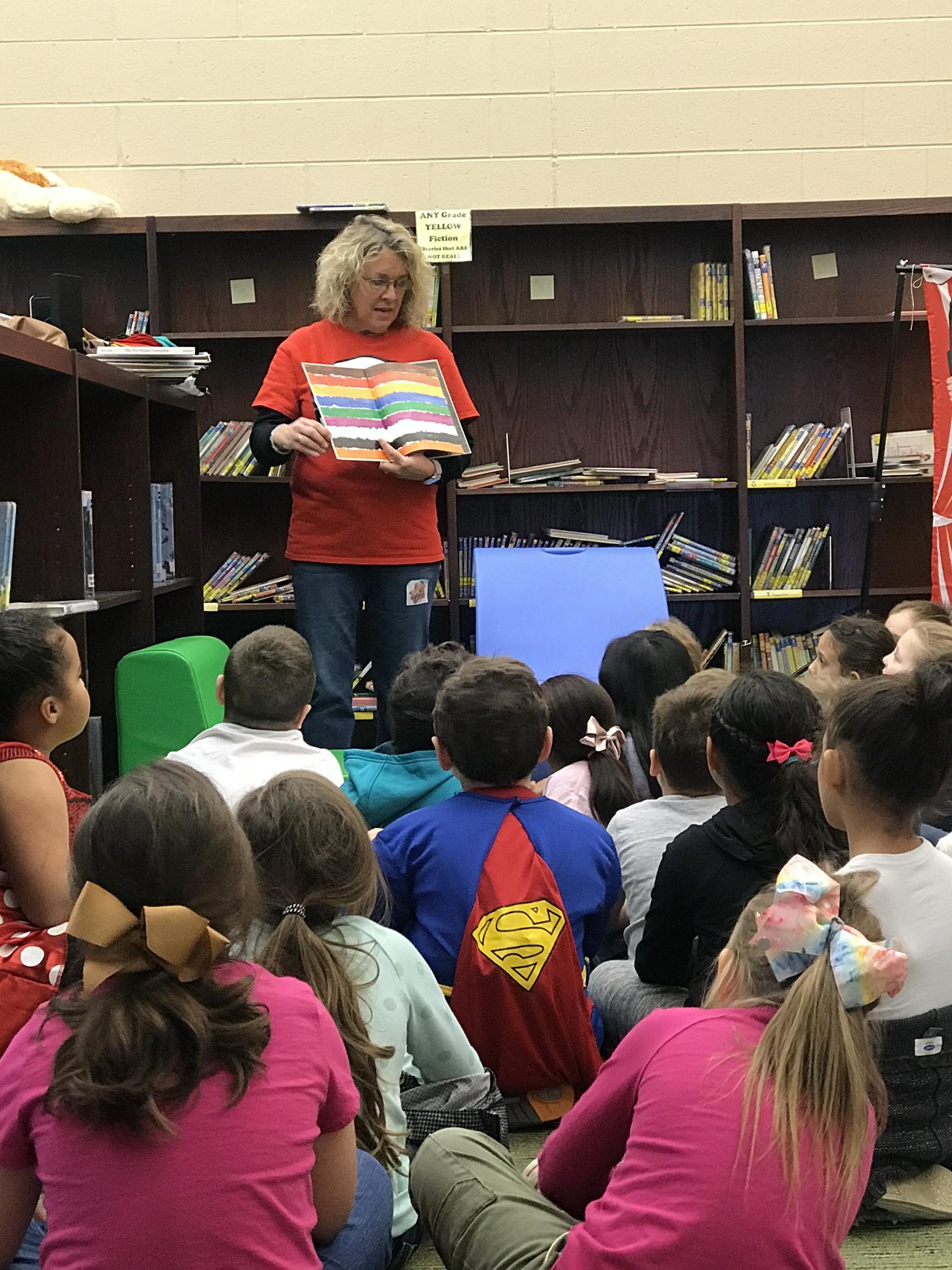 RAA Week-Mrs.Bridges read to us!