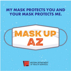 image of Mask Up AZ poster