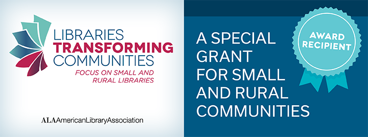 Libraries Transforming Communities Grant logo banner