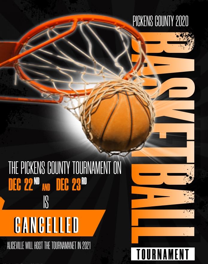 2020 Pickens County Tournament Cancellation
