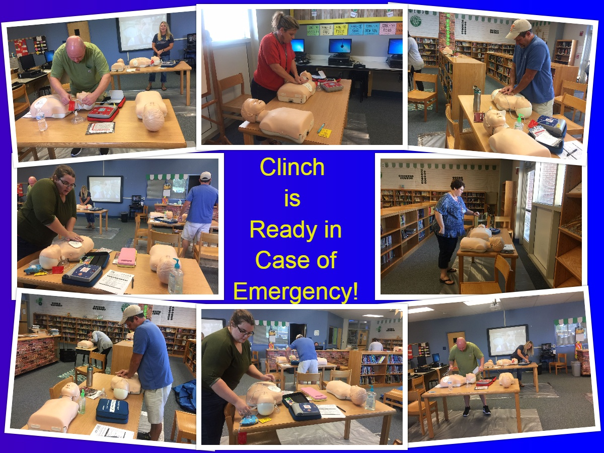 Clinch Teachers Learn CPR