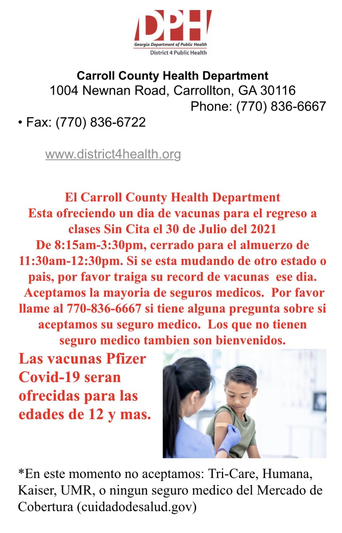 spanish immunization form