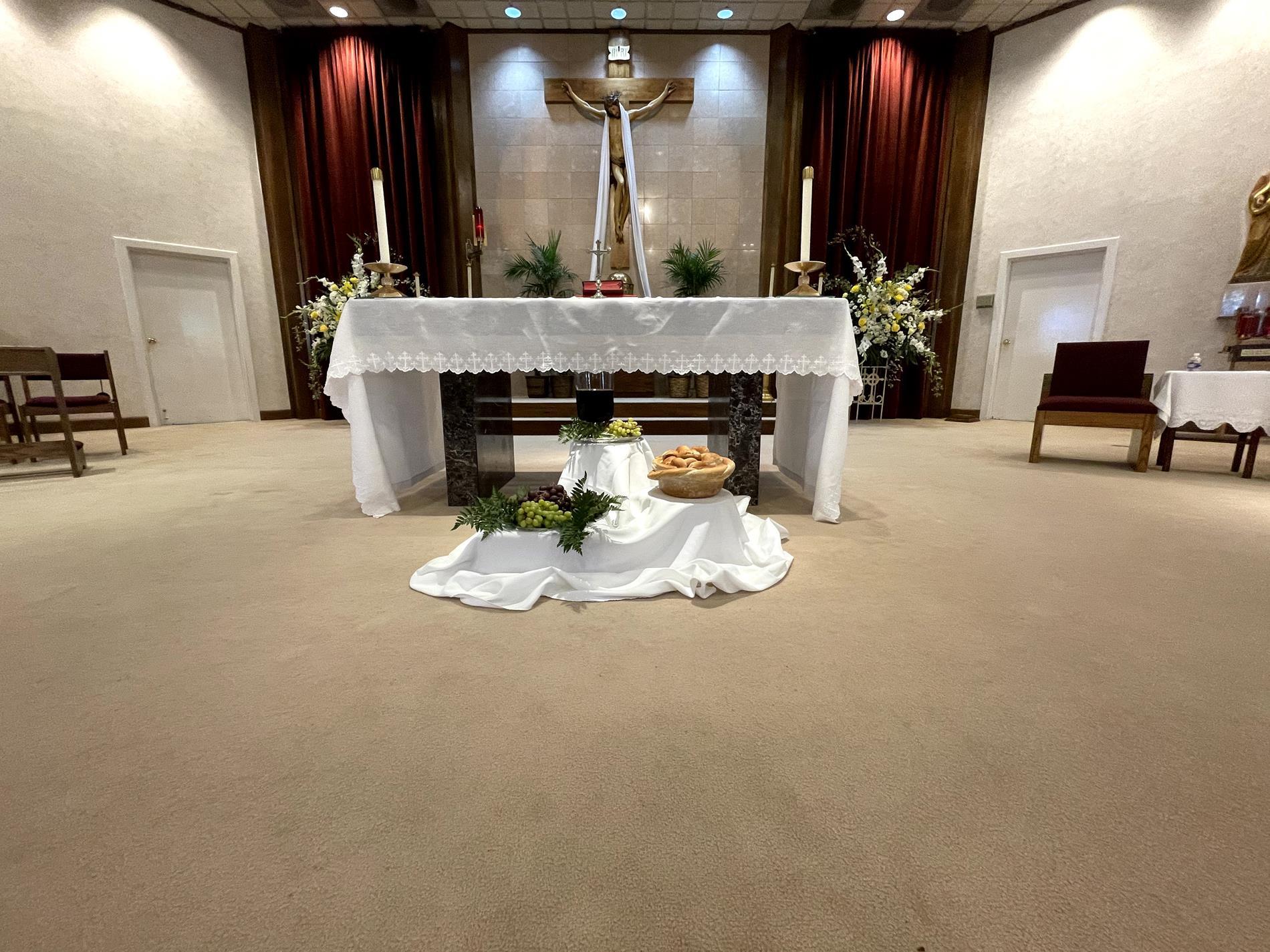 The beautiful altar