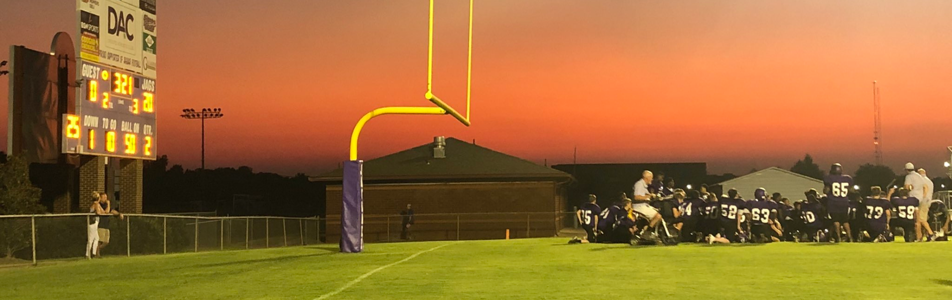 JagFootballSunset