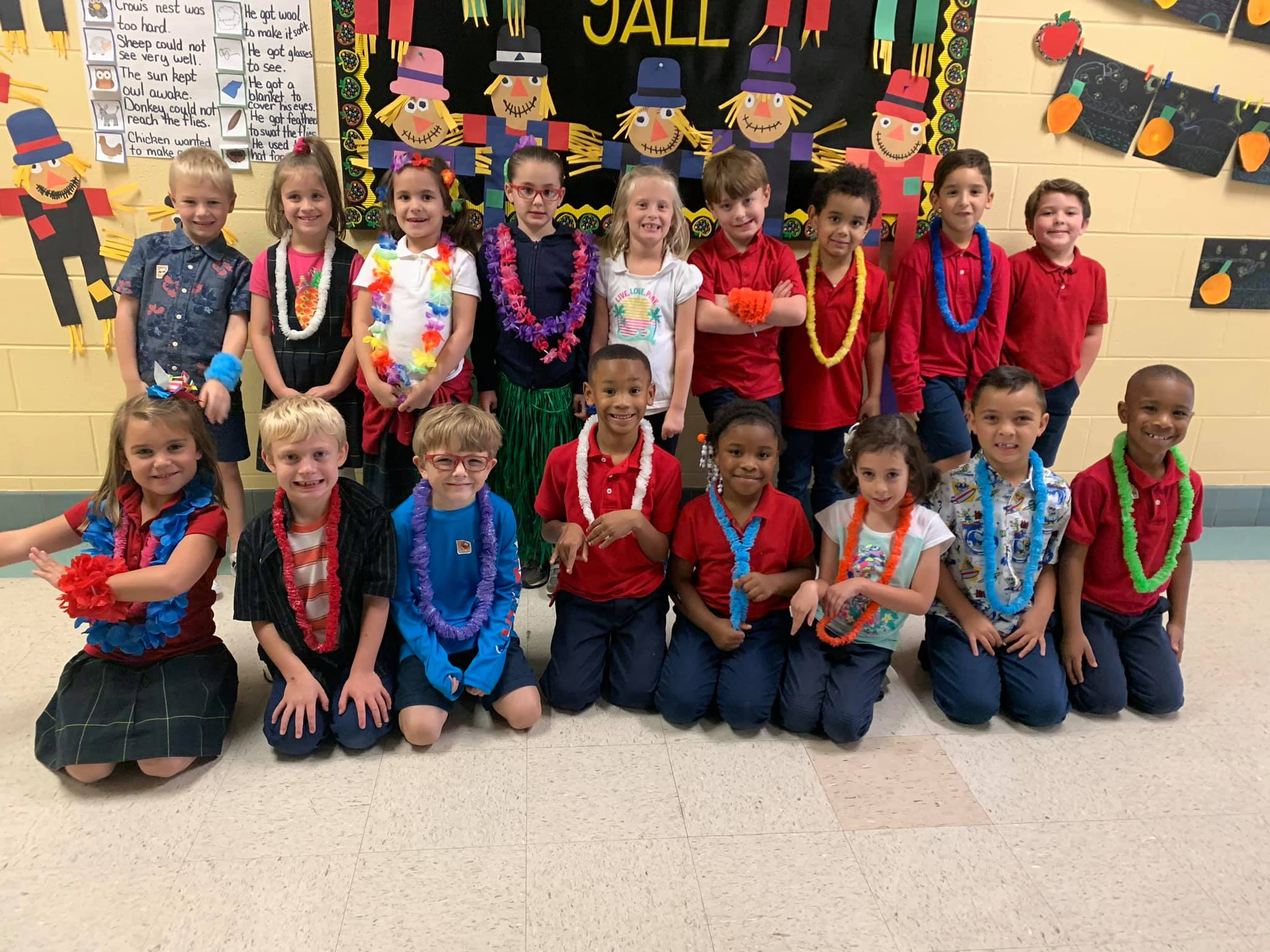 "Red Ribbon Week- ""Lei off Drugs"""
