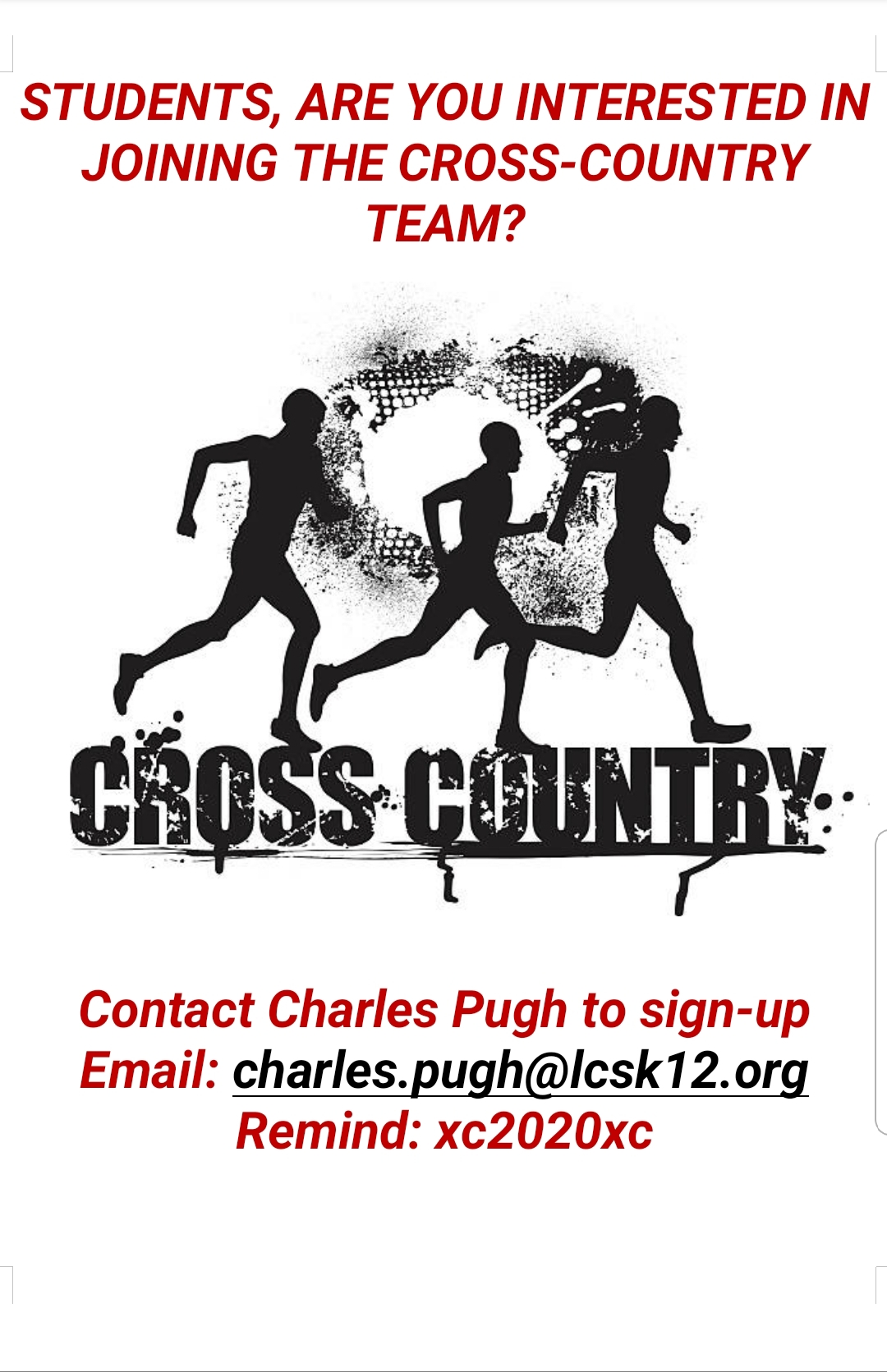 Track sign up