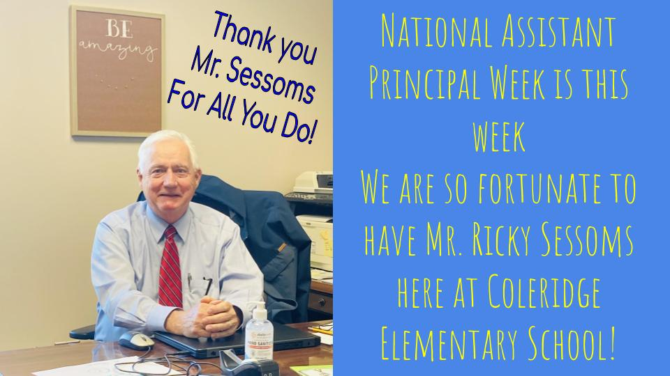 Assistant Principal Week