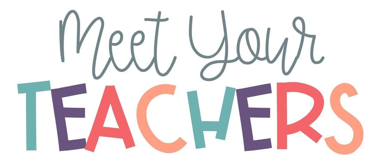 Meet the Teacher clipart