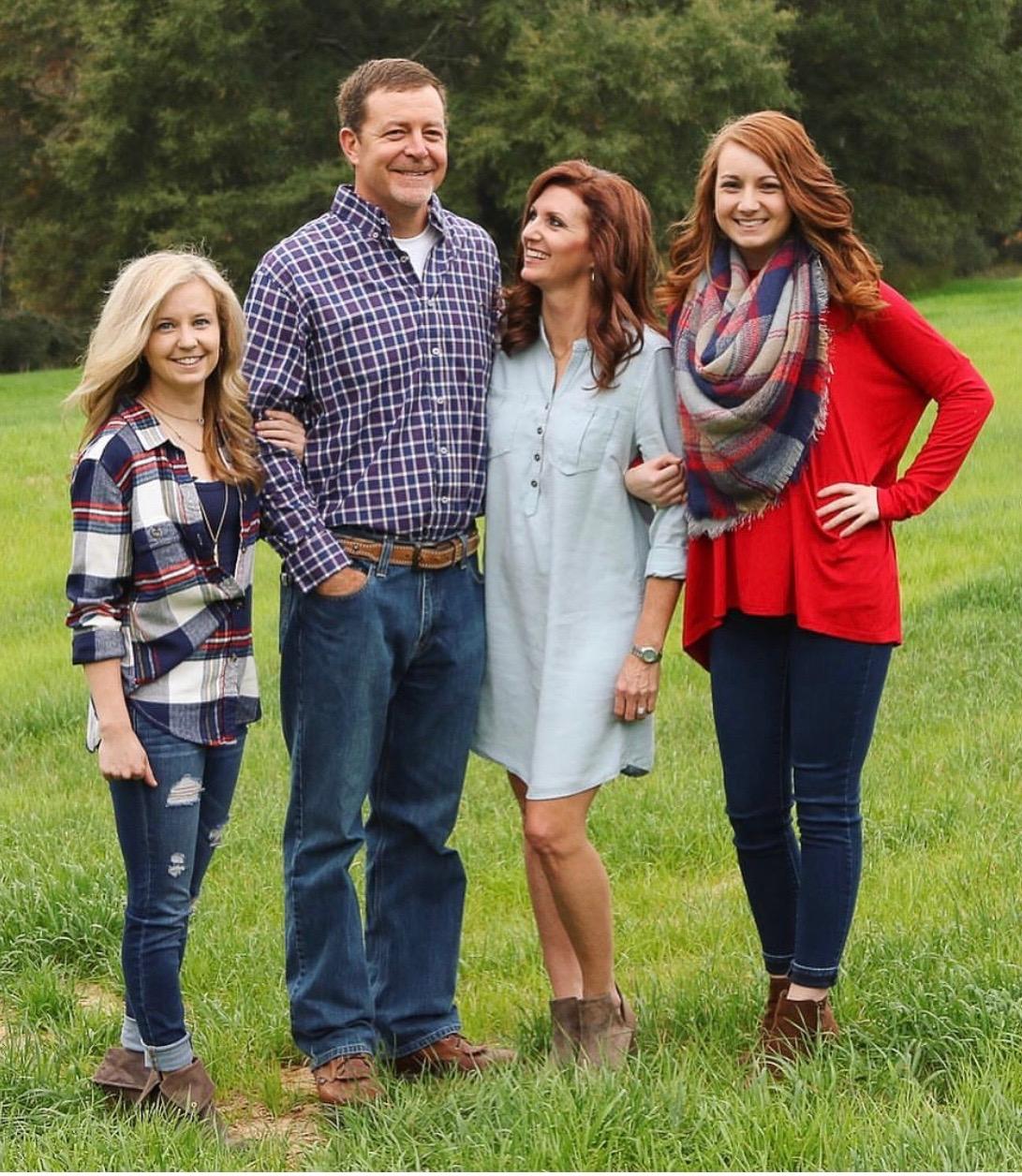 Nelson's family.