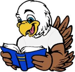 Bird Reading a Book