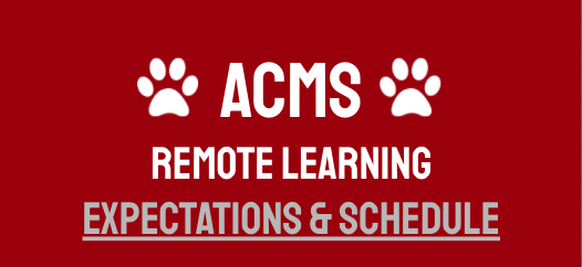 acms remote learning graphic