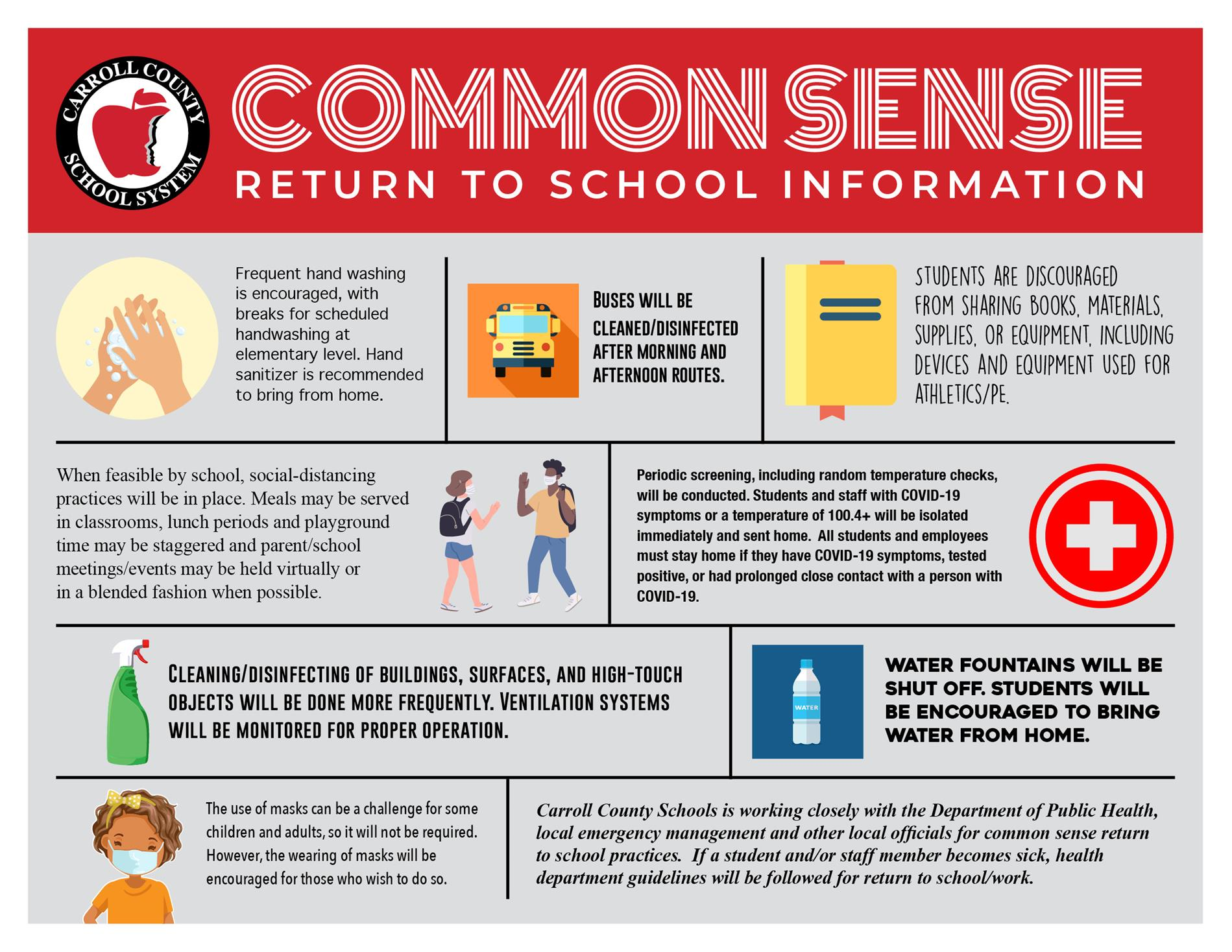 Common Sense Return to School