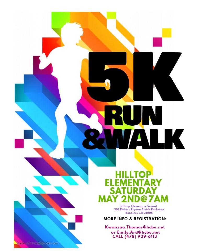 Hilltop 5K Run & Walk
