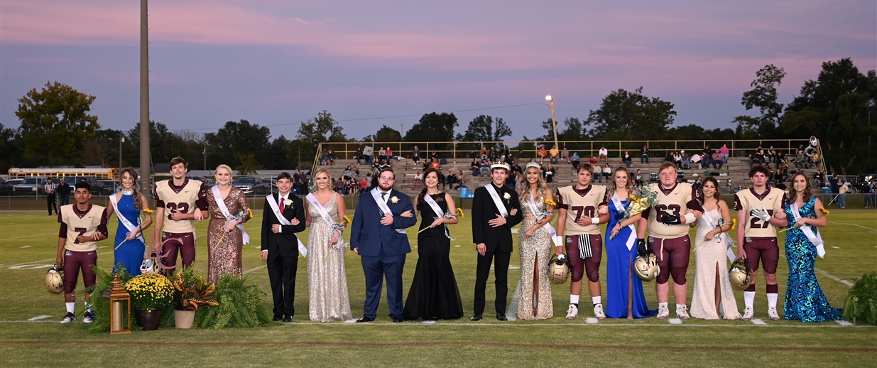 LCHS Homecoming Court 2020