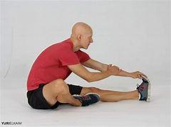 sitting leg stretches