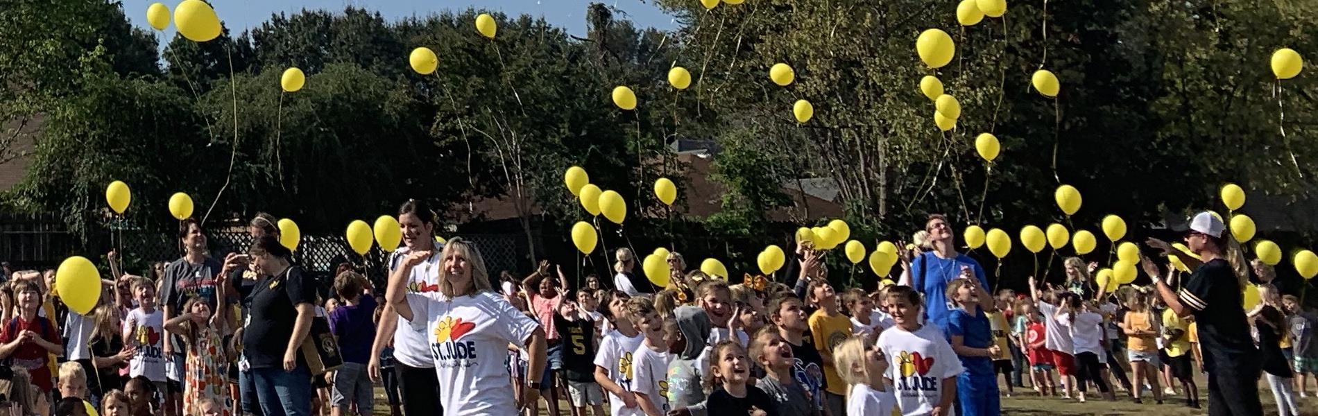 St. Jude Balloon Release