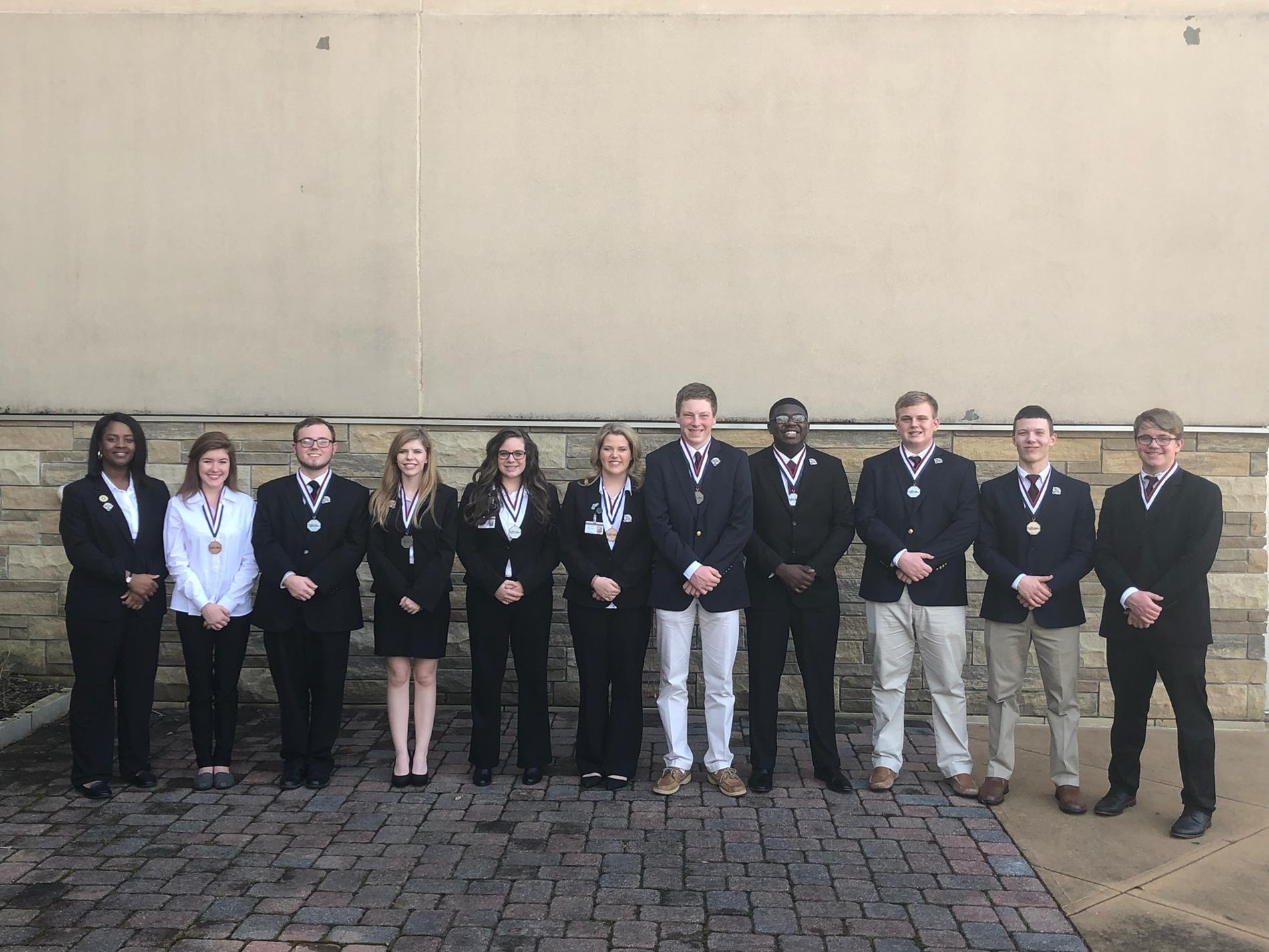 State Competition HOSA Winners