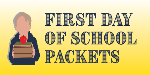 First Day Packets Due September 20th