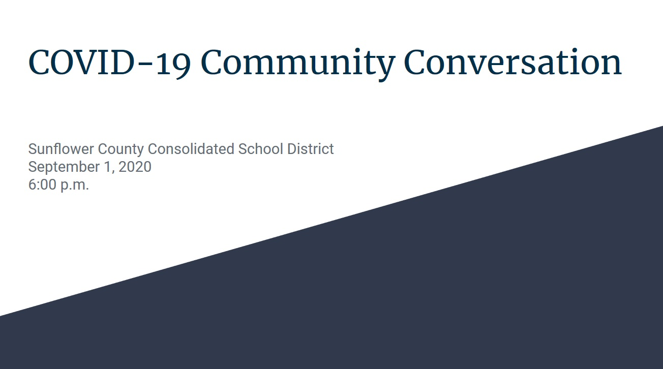 SCCSD Virtual Community Meeting 9.1.20