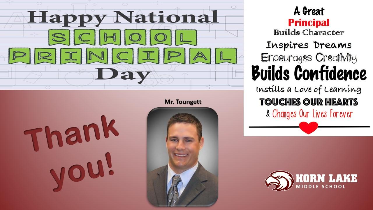 Principal Appreciation Day May 1st