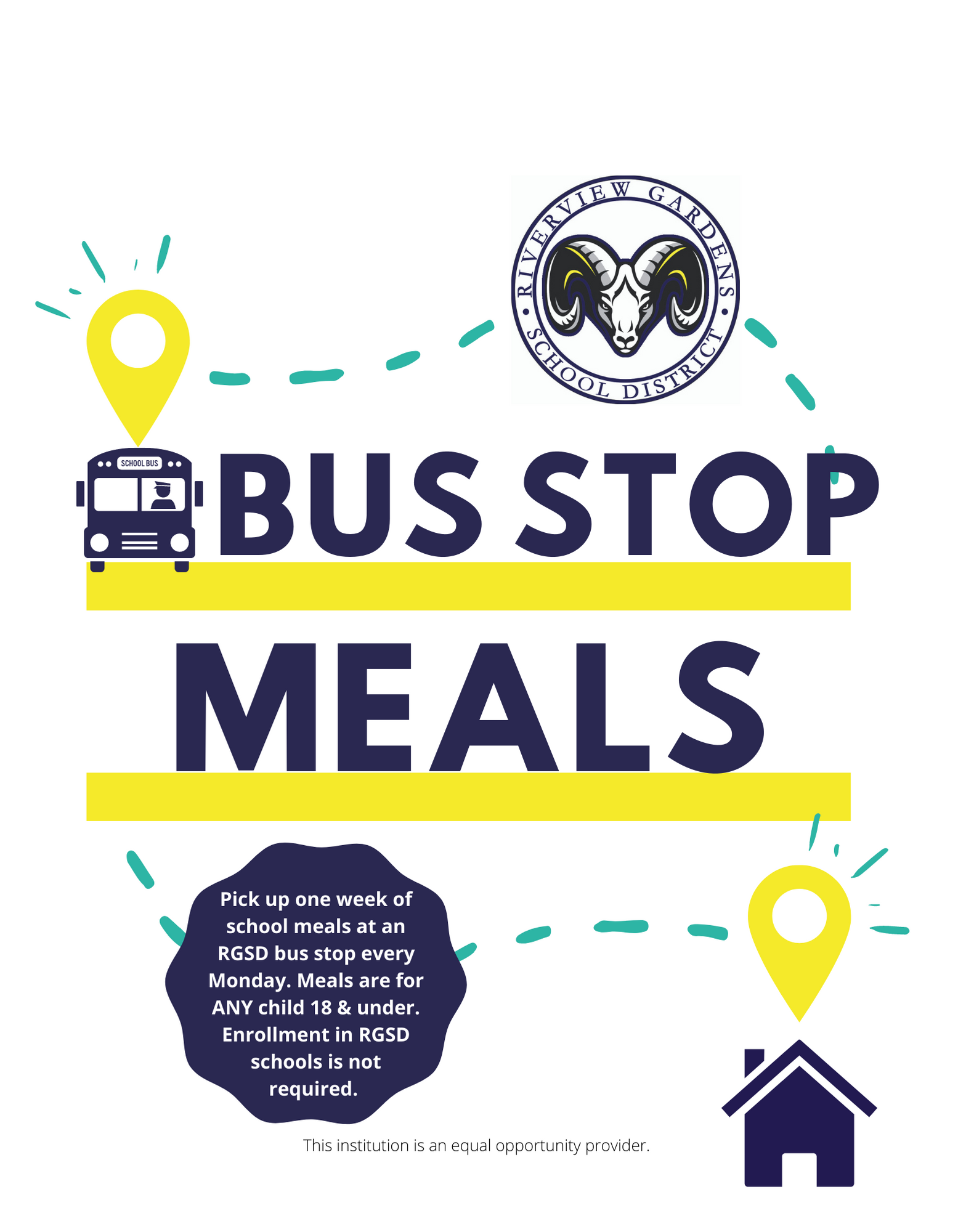 Bus Stop Virtual Learner Meals Flyer